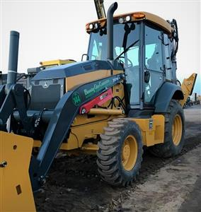 BGC, Inc. Acquires Brand-New John Deere 310SL Backhoe To Begin 2018