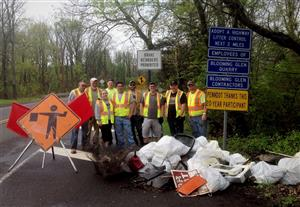 BGC, Inc. Participates in PennDOT's Adopt-A-Highway Cleanup For 20th Straight Year